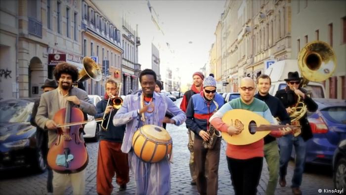 Ausgezeichnete Brass-Band Banda Internationale