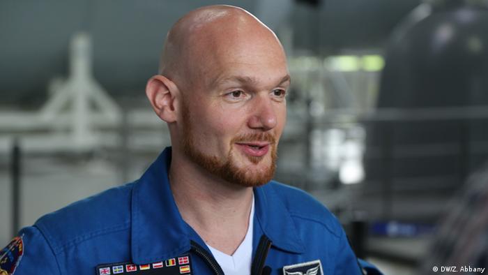 German Astronaut Alexander Gerst