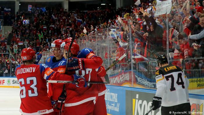 Russland Eishockey-WM Russland vs. Deutschland