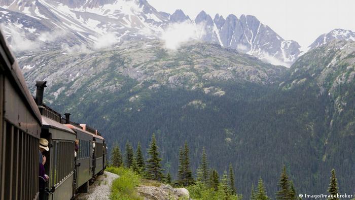 Alaska, Kanada, USA White Pass and Yukon Route