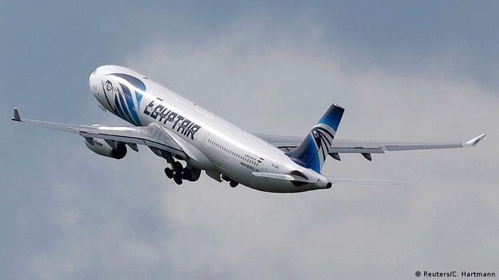 Ägypten Flugzeug A320 der EgyptAir