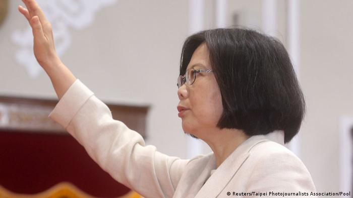 Taiwan Tsai Ing-wen Präsidentin Vereidigung Schwur