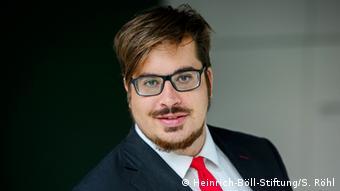 Руководитель стамбульского отделения Фонда имени Генриха Бёлля Кристиан Бракель