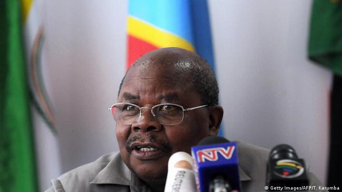 Afrika Kenia Nairobi Benjamin Mkapa ehemaliger Präsident von Tanzania