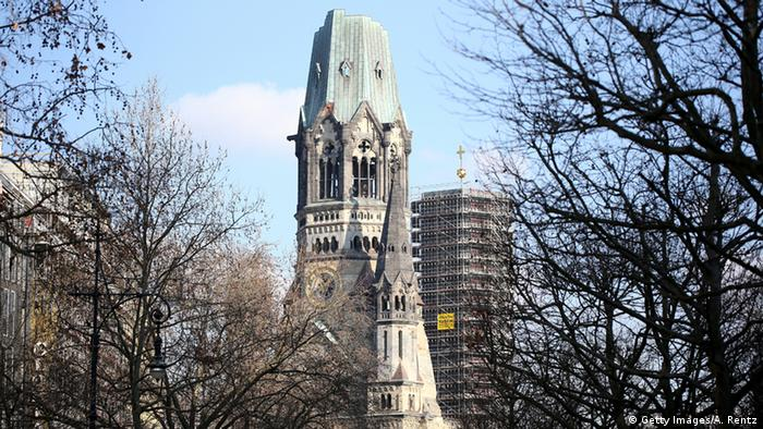 A picture of Germany's Kaiser Wilhelm Memorial Church
