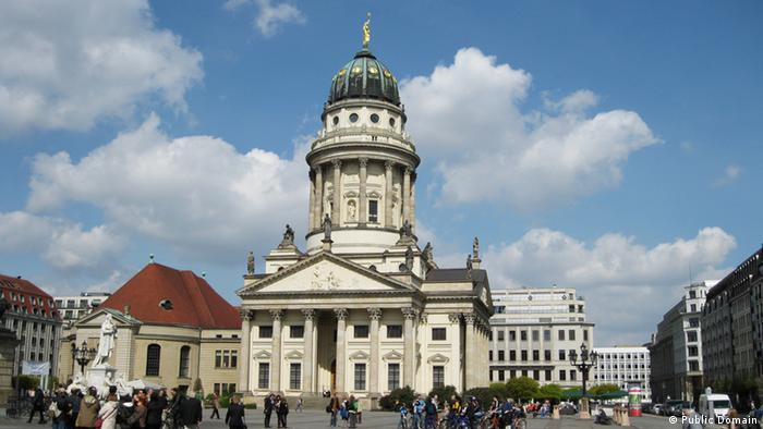 A picture of Berlin's French Cathedral