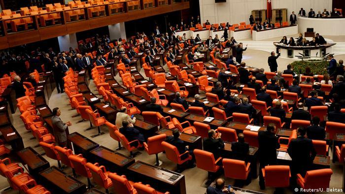 Türkei Abstimmung Aufhebung der Immunität von Parlamentariern