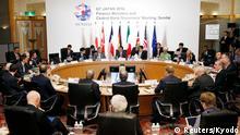 Japan Treffen der G7-Finanzminister in Sendai