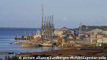 Tansania Hafen von Tanga