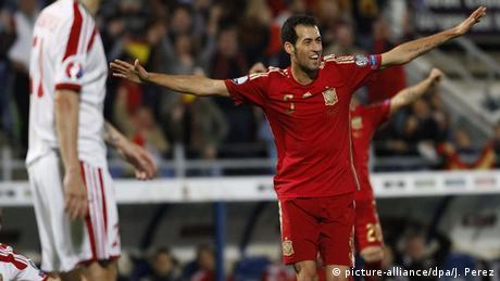 Spanien Fußballspieler Sergio Busquets