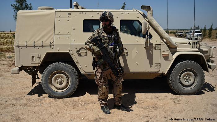 Afghanistan Bundeswehr-Soldat in Mazar-i-Sharif