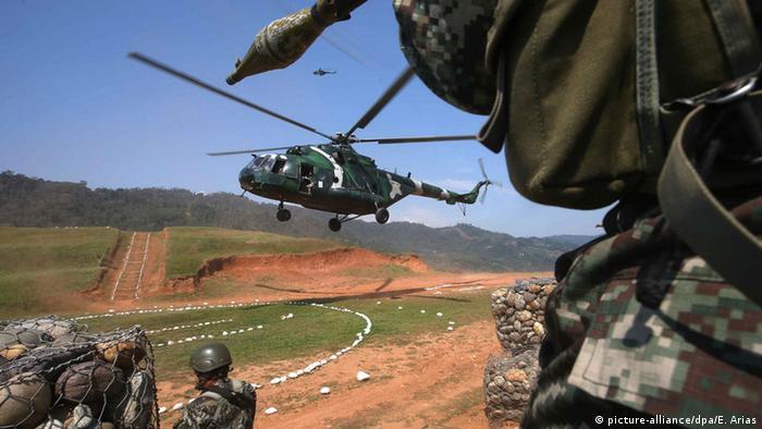 Peru Operation der peruanischen Streitkräfte