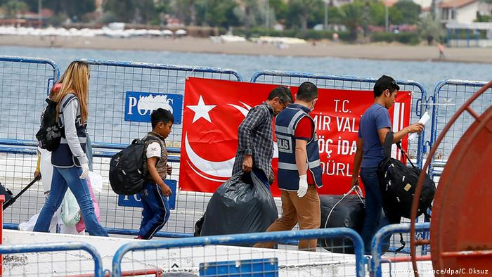 Flüchtlinge Türkei Izmir
