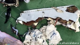 EgyptAir MS804 Wrackteil Foto: picture-alliance/abaca