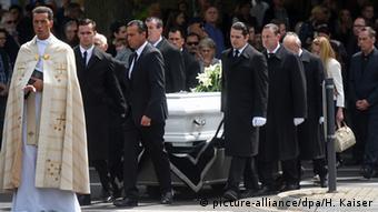 Deutschland Beerdigung von Niklas P.