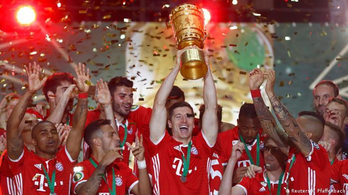 Футбол. кубок германии. байер л бавария