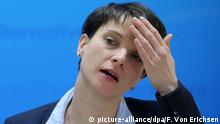 Deutschland Frauke Petry in Maniz