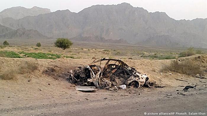 Afghanistan Taliban-Führer Akhtar Mohammed Mansur durch Drohne getötet