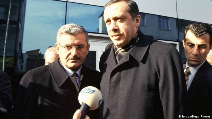 أردوغان ويلدرم عام 2003