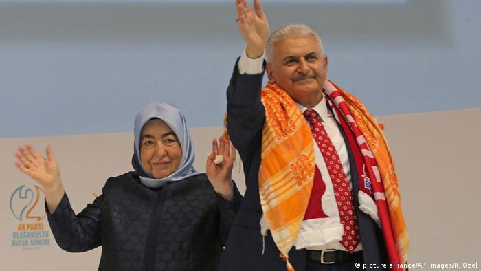 Türkei AKP-Kongress Binali Yildirim in Ankara
