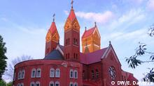 Die römisch-katholische Kirche des heiligen Simon und der heiligen Helena in Minsk