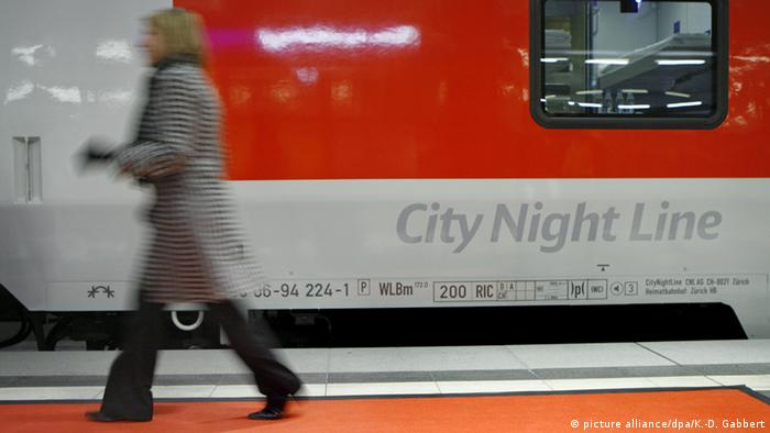 City Night Line train (picture alliance/dpa/K.-D. Gabbert)