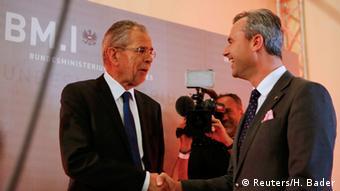 Österreich Wahlen Norbert Hofer Alexander Van der Bellen TV