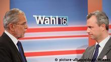 Österreich Präsidenten-Wahl 2016 Norbert Hofer Alexander Van der Bellen