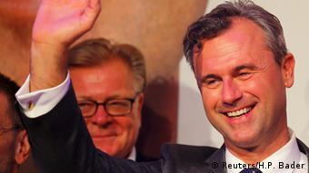 Ο ακροδεξιός υποψήφιος για την προεδρία Νόρμπερτ Χόφερ