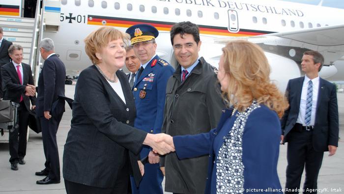 Angela Merkel in Istanbul