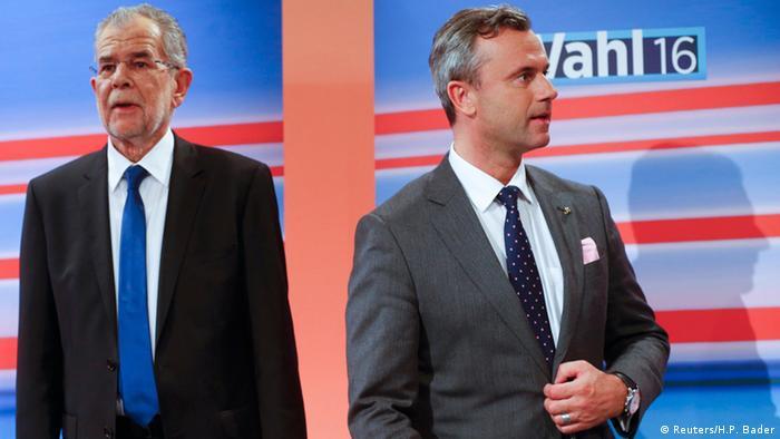 Österreich Präsidenten-Wahl 2016 Alexander Van der Bellen & Norbert Hofer