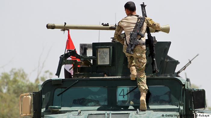 Irak Offensive zur Rückeroberung der Stadt Falludscha