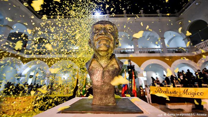 Kolumbien Beisetzung Gabriel Garcia Marquez in Cartagena
