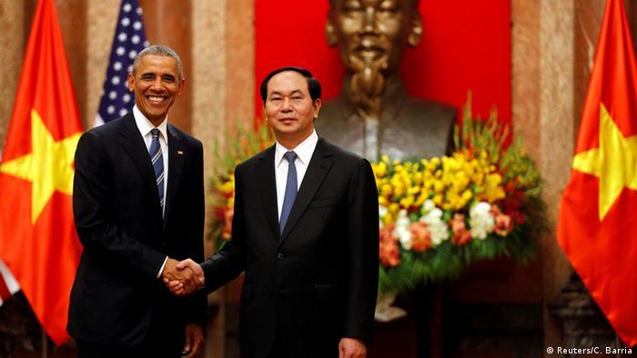 Vietnam Besuch US-Präsident Barack Obama