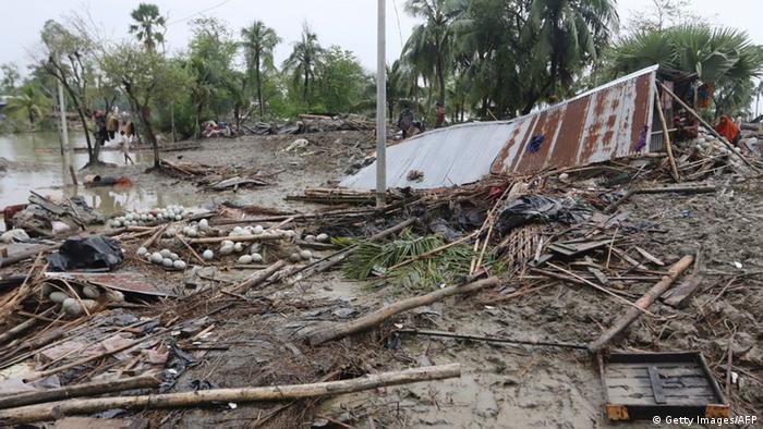 Bangladesch Zyklon Roanu