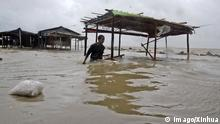 21.05.2016+++ Bangladesh, on May 21, 2016. Cyclone Roanu slammed into the Bangladesh coastlines after making landfall in a southernmost coastal district on Saturday afternoon, leaving a trail of devastation. +++ (C) Imago/Xinhua