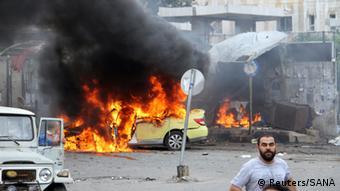 Tartus in flames