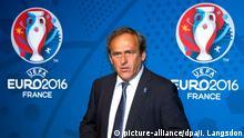Frankreich Paris UEFA Präsident Michel Platini