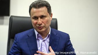 Mazedonien Anti-Regierungsproteste Nikola Gruevski Ex-Regierungschef