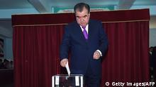 Tadschikistan Referendum über Verfassungsänderung Emomalii Rahmon