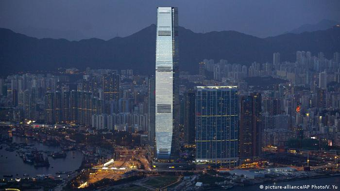China ICC Hochhaus in Hongkong