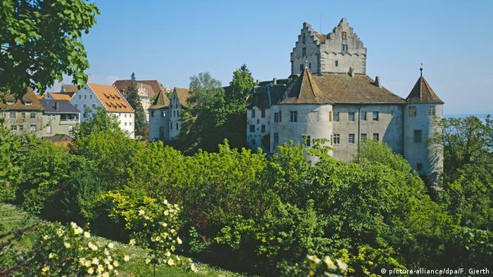 Meersburg, enxaimel e poesia
