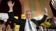 Österreich Präsidenten-Wahl 2016 Alexander Van der Bellen