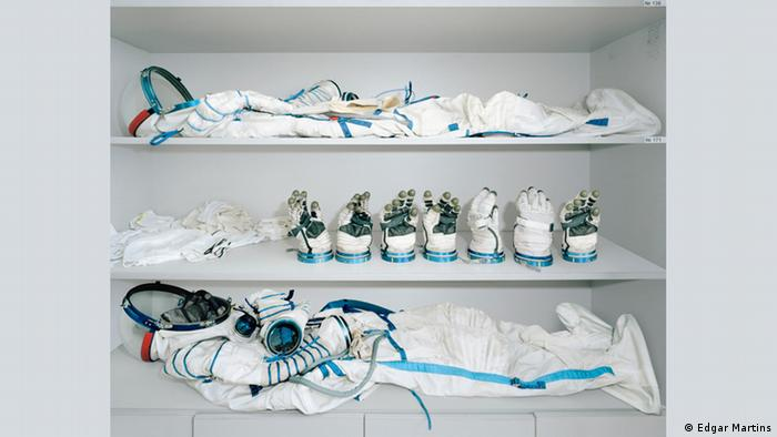 A spacesuit closet (Edgar Martins)