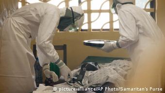 Ebola Samaritan's Purse Ebola Case Management Center Liberia Monrovia