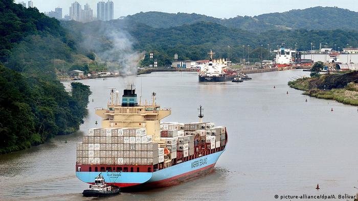 巴拿马运河2.0:耗资巨大 历时九年