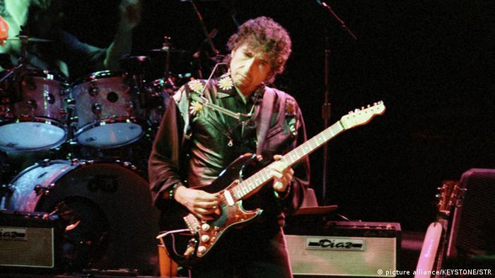 Bob Dylan num festival em Berna, na Suíça