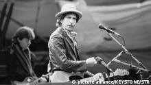 Schweiz Bob Dylan im St. Jakobsstadion in Basel