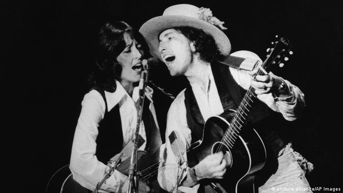 USA Joan Baez and Bob Dylan (picture alliance/AP Images)