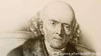 Deutschland Arzt, Apotheker und Chemiker Samuel Hahnemann
